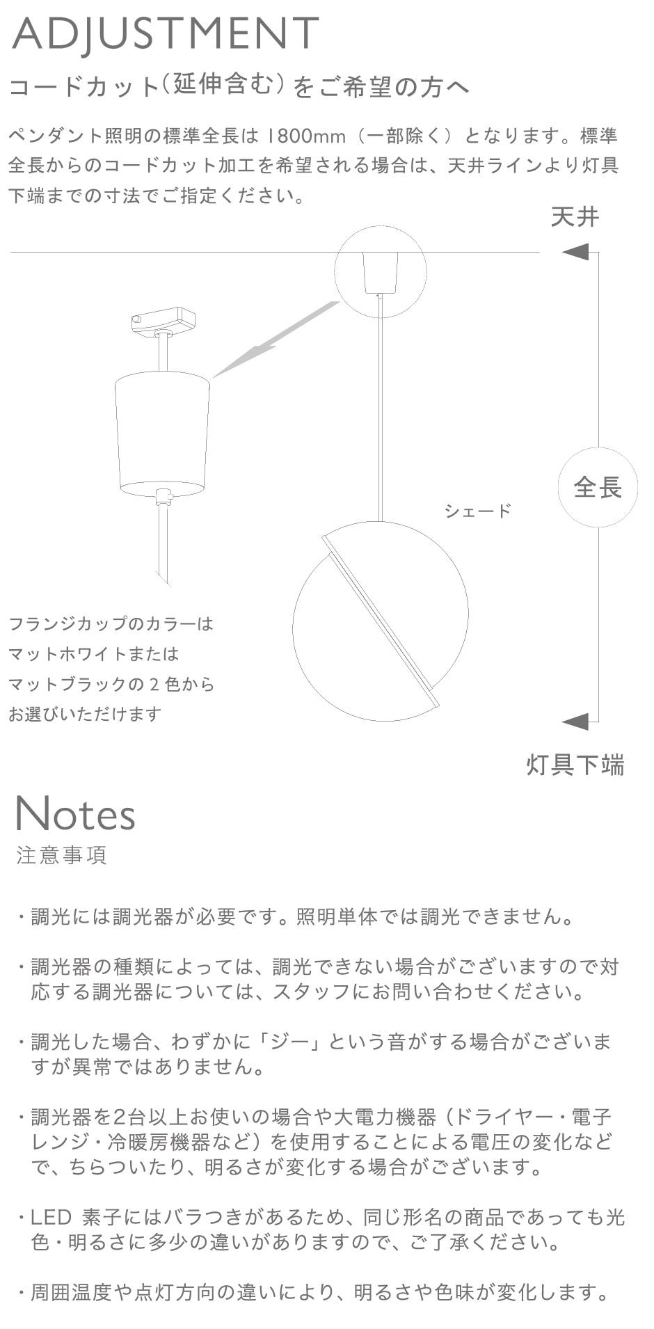 図2:Adjustment コードカット(延伸含む)をご希望の方へ
