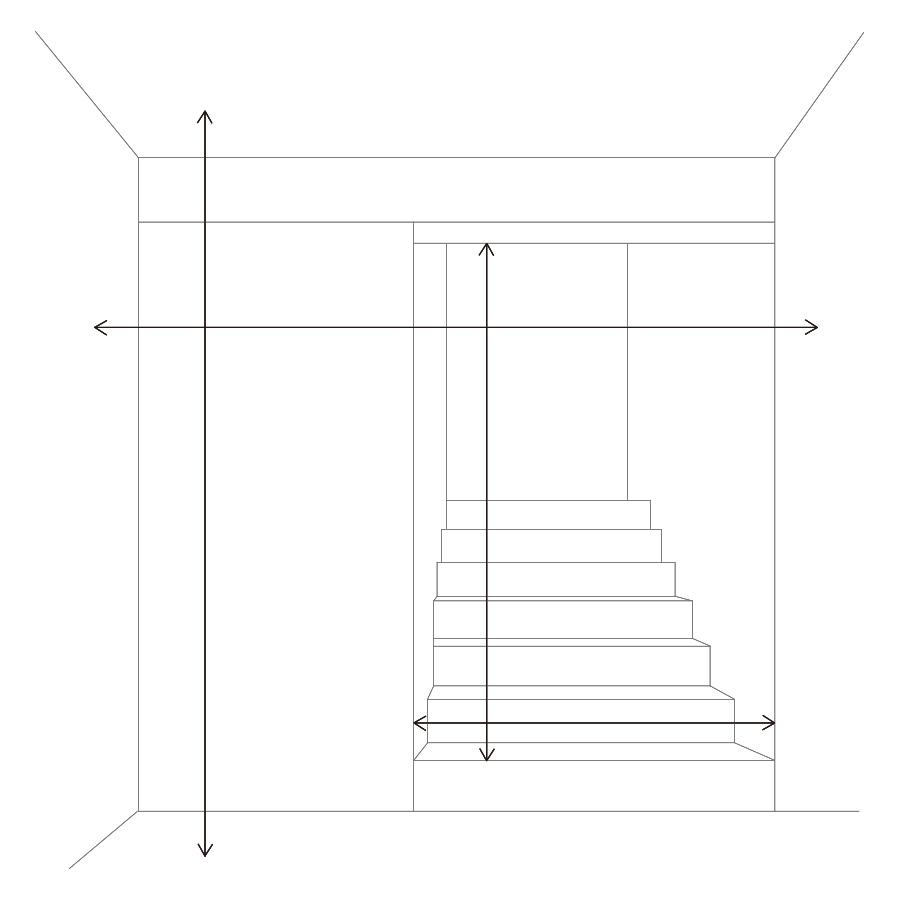 図:階段の幅・高